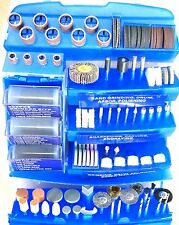 300 PC Rotary Tool Bits Accessory Kit For Rotary Type Power Tools