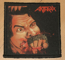 """ANTHRAX """"FISTFUL OF METAL"""" silk screen PATCH"""