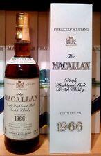 Macallan 18 anni 1966 SINGLE MALT sherry oak casks (rarità) OTTIMO STATO!