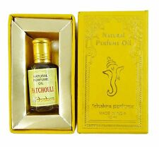 Chakra PATCHOULI Natural Perfume Oil in Roller Bottle, Made in India-10ml