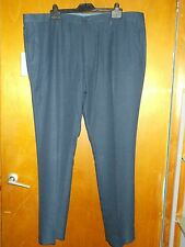 "M&S Modern Tailored Fit Trousers W 42"" L 33"" Navy BNWT"