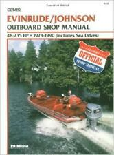 EVINRUDE JOHNSON OUTBOARD MOTOR 135 140 175 185 200 225 HP Owners Repair Manual