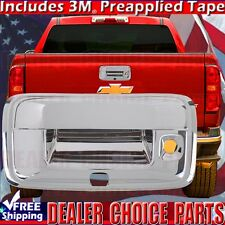 2014-2017 CHEVY COLORADO 2015-2016 GMC CANYON Chrome ABS Tailgate Handle COVER