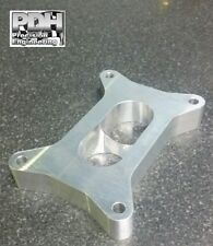 "1"" CARBY SPACER, SUIT 2 BARREL 350 HOLLEY, TAPERED 2 HOLE TO 1"