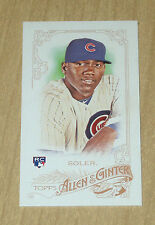 2015 Topps Allen/Ginter mini rookie card SSP Jorge Soler from RIP #362 SP