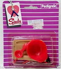 70S SINDY DOLL ACCESSORIES  PACK PEDIGREE ENGLAND Kitchen Mixing Baking Set
