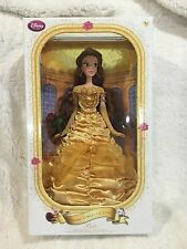 NEW Disney Store BELLE doll Beauty and the Beast NIB Limited Edition LE COA