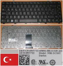 CLAVIER QWERTY TURQUE DELL 1535 1536 1537 NSK-DC00T 0WT722 WT722