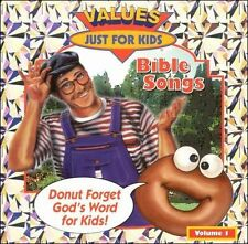 NEW Donut Man Bible Songs Vol. 1 by Just-For-Kids CD (CD) Free P&H