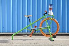 Smoothie Bike. Static Pedal Powered Blender By Alt Bike Co. The Shakesta Static