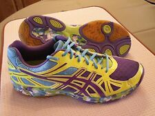 NEW Condition Womens Asics Gel Flashpoint Size 12 Volleyball Rainbow SoLyte Sole