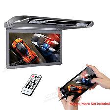 """XTRONS HDMI Slim 13.3"""" 1080P LCD Car MPV Flip-Down Monitor USB SD Video Player"""