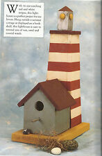 Decorative Painting Instruction Book-Painting & Decorating Bird Houses-22 Projec