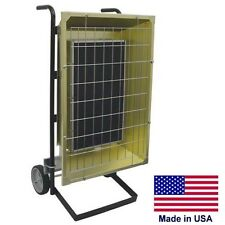 Portable Infrared HEATER - 600 VOLTS - 14,672 BTU - 1 Phase - Prewired