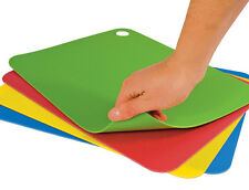 "Tovolo Non-slip Large 15"" x 11½""  Flexible Cutting Mats 4 Piece Set, 15 x 11½"