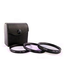 Jackar 58mm UV+CPL+FD Filter Set For Canon EF 28–80 70–300 EFS 18–55mm 55–250mm