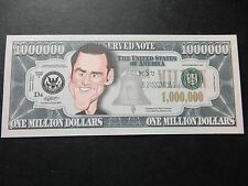 JIM CARREY $1 MILLION DOLLAR NOTE Novelty Bill $1,000,000 Dumb and Dumber Mask