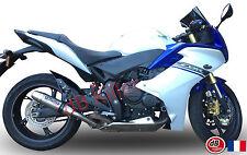 SILENCIEUX GPR DEEPTONE INOX HONDA CBR 600 F 2011/12/13/14