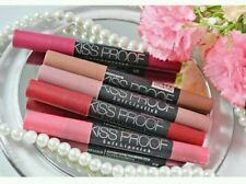 Kissproof matte lipstick, with free sharpener, all shades available