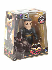 "Batman Vs Superman Bruce Wayne 4"" metales Die Cast Figura Jada Juguetes DC Comics"