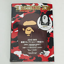 NEW* BAPE A Bathing Ape MAGAZINE FREE Tote Backpack BAG 2015 Autumn Winter Book
