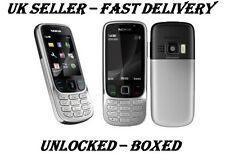 NEW CONDITION NOKIA 6303i CLASSIC SILVER BLACK UNLOCKED PHONE -BLUETOOTH  3.2 MP
