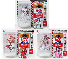 Set of 3 Evangelion UCC Figure Rei Ayanami Asuka Langley Mari JAPAN ANIME 2