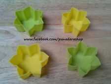 4pcs Flower Bento Tools Puto Jelly Cupcake Chocolate Baking Pan Molder Mold Cups