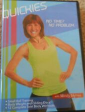 Mindy Mylrea Quickies Workout Fitness Exerise Cardio Strength Intervals DVD