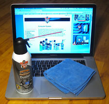Falcon Dust Off 12 Oz can of compressed Air with FREE microfiber cloth -Wow!