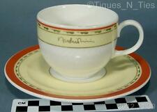 Villeroy & Boch Topmarked Cup and Saucer Signed Hotel Restaurant China Logo (FF)
