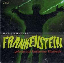 Mary Shelley -  Frankenstein - gelesen von Katharina Thalbach (2CD)  OVP
