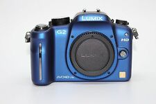 Panasonic Lumix DMC-G2 (Blue, Body Only) 12.1 MP Live MOS Mirrorless Digital Cam
