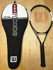 Wilson Ncode N6 OS Tennis Racquet 4 3/8 (WITH Case)