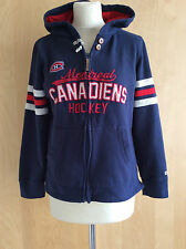 "SWEAT ZIPPE A CAPUCHE ""CCM"" WOMEN'S MONTREAL CANADIENS HOCKEY - TM - TBE"