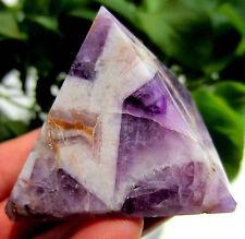 TOP!!! 97g Natural Dream Amethyst Quartz Crystal Pyramid Healing China