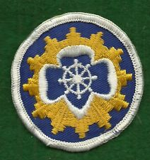 VINTAGE GIRL SCOUT PATCH - 1963 SENIOR INTEREST - MARINER - 2 1/4""