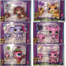 Choose Any 3 Littlest Pet Shop Mom Baby Dachshund Tiger Elephant Poodle Bird Pig