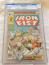 Iron Fist #14, CGC 8.5 VF+, 1st Appearance of Sabretooth, Marvel 1977