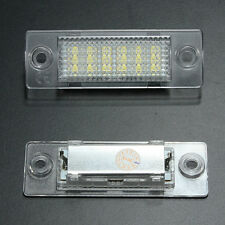 LED License Number Plate Light Lamp For VW Jetta Transporter Golf Passat Touran