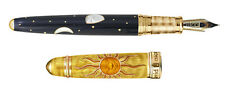 NEW David Oscarson YELLOW Celestial Collection Fountain Pen