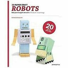 3D Paper Craft Robots-ExLibrary