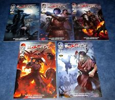 BUSHIDO the way of the warrior #1 2 3 4 5 1st print set TOP COW COMIC HVE blade