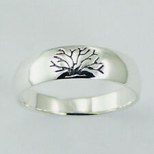 USA Seller Tree of Life Band Ring Sterling Silver 925 Best Deal Jewelry Size 6