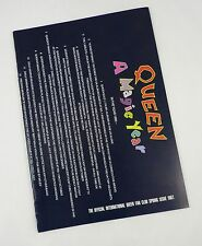 Queen Official International Fan Club Magazine - Spring Issue 1987