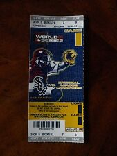 Chicago White Sox 2005 World Series Gm 1 Ticket + Lanyard + 2 Papers + 2 Posters