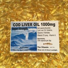 COD LIVER OIL SuperStrength 1000mg 365 Capsules    ( L)