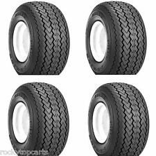 Golf Cart Tires Set of 4, 18x8.50-8 Kenda Hole-n-one Stock Height - Tires Only