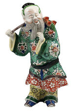 Superb 18th / 19thC Chinese Famille Verte Statue Figurine