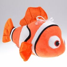HOT Finding Nemo Soft Plush Doll Stuffed Toy Clown Fish 9IN New Gift for Kids